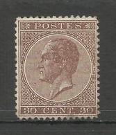 COB 19 (*) Dentelure 14½ X 14 Sans Gomme, En Parfait état Prix Cat: 545€ - 1865-1866 Profil Gauche