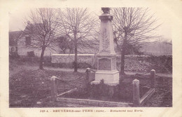02 BRUYERES SUR FERE #21553 LE MONUMENT AUX MORTS - Autres Communes