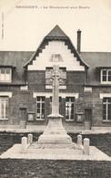 02 GRICOURT #21555 LE MONUMENT AUX MORTS - Autres Communes