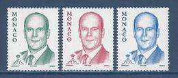 ⭐ Monaco - YT N° 2515 à 2517 - Neuf Sans Charnière - 2005 ⭐ - Unused Stamps