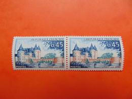 N° 1313c** Sully/Loire.  Rare - Variétés: 1960-69 Neufs