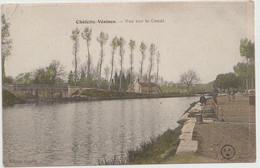 Châlette Sur Loing  (45 - Loiret)  Vue Sur Le  Canal - Andere Gemeenten