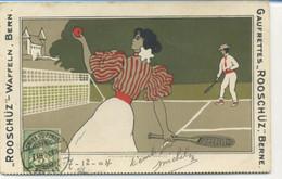"TENNIS - PUB Gaufrettes ""Rooschüz"", Berne / Waffeln - Tennis"