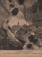 LE PETIT PARISIEN 24 07 1892 - 74 HAUTE SAVOIE SAINT GERVAIS BIONNAY LE FAYET - M. RESSMANN AMBASSADEUR D'ITALIE ... - 1850 - 1899