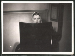 Fotografie Schauspielerin Maria Andergast Als Manja Valewska - Personalità