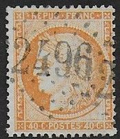 Cérès N° 38  Oblitéré G.C. 2496 ( Montmorency ) - 1870 Besetzung Von Paris
