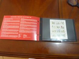 "Guernsey 1990: Christmas ""WINTER BIRDS BLOC AVEC SA POCHETTE  12 TIMBRES NEUFS - Colecciones & Series"