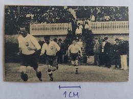 National Team POLAND Vs JUGOSLAVIA, Football Match COKOLADA MOMENTI NOGOMETA La Cicogne Zemun 1930s Stickers - Other