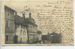 CPA 54  BACCARAT Deneuvre Maisons1902 - Baccarat