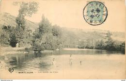 03 MONTLUCON. Militaires Se Baignant Sur Les Bords Du Cher 1906 - Montlucon