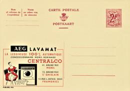 PUBLIBEL # 1916 . AEG. LAVAMAT . CENTRALCO. LA LESSIVEUSE . MONS. ST GHISLAIN . FRAMERIES - Werbepostkarten