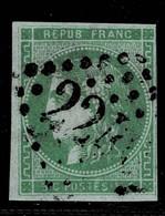A4D-N°42 Filet Présent  Sans Défaut - 1870 Emissione Di Bordeaux