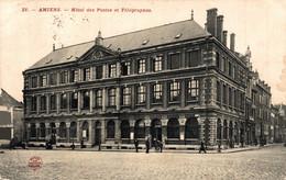 N°7796 Z -cpa Amiens -hôtel Des Postes Et Télégraphes- - Poste & Postini