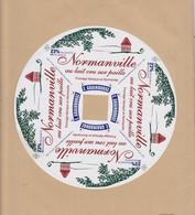 ETIQUETTE DE FROMAGE FAB. PAR GRAINDORGE LIVAROT 14 . 18 CM - Quesos