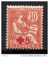 ALEXANDRIE - N° 34** - TYPE MOUCHON - Neufs