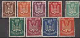 277/ Mi: 210/18 ; Mint/no Gum; 1925; Cat €  3.50 - Oblitérés