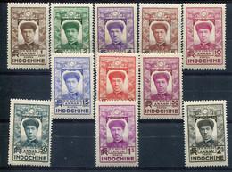 Indochine         171/181 ** - Unused Stamps