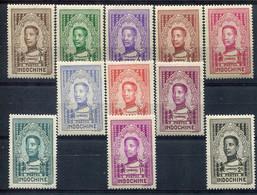 Indochine         182/192 ** - Unused Stamps