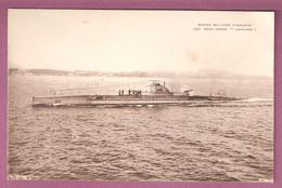 Marine De Guerre Francaise - Sous Marin Lagrange - Warships