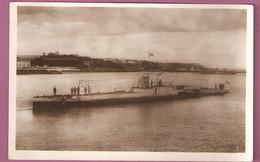 Marine De Guerre Francaise - Le Sous Marin Daphné - LL 192 - Warships