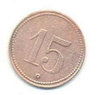TOKEN WERTH MARKE 15 - Souvenir-Medaille (elongated Coins)