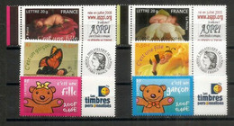 "Timbres ""naissance"" Personnalisés.  6 Timbres Neufs **   Côte 30,00 Euro - Personalized Stamps"