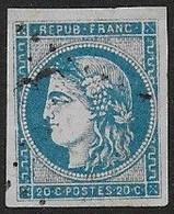Bordeaux N° 45C  Oblitéré - Cote : 70 € - 1870 Bordeaux Printing