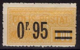COLIS POSTAUX N° 38 Neuf* Avec Charnière Légère. Bas Prix à Saisir. - Neufs
