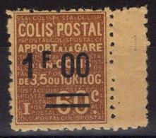 COLIS POSTAUX N° 47 Neuf* Avec Charnière Légère. Bas Prix à Saisir. - Neufs