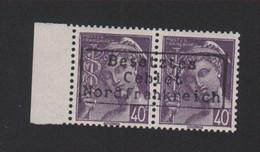 Lot 006, Timbre De Guerre N° 548, 40 C Mercure Dunkerque Coudekerque Gomme Sans Charnière, Surcharge De Complaisance - 1938-42 Mercure