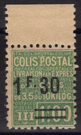 COLIS POSTAUX N° 67 Neuf* Avec Trace De Charnière Légère. Bas Prix à Saisir. - Neufs