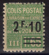 COLIS POSTAUX N° 71 Neuf* Avec Charnière Légère. Bas Prix à Saisir. - Neufs