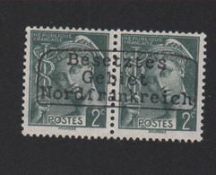 Lot 006, Timbre De Guerre N° 405, 2 C Mercure Dunkerque Coudekerque Gomme Sans Charnière, Surcharge De Complaisance - 1938-42 Mercure