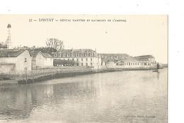 LORIENT L Hopital Maritime Et Batiments De L Arsenal - Lorient
