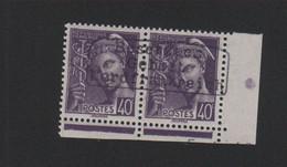 Lot 006, Timbre De Guerre N° 413, 40 C Mercure Dunkerque Coudekerque Gomme Sans Charnière, Surcharge De Complaisance - 1938-42 Mercure