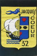 Ecusson Chantiers De La Jeunesse Française 2°GM Groupement N°32 JACQUES COEUR - Patches