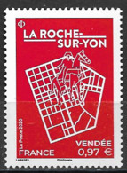 France 2020  Neuf **  N° 5416 -  La Roche Sur Yon ( Vendée )    à 0,97 € - Neufs