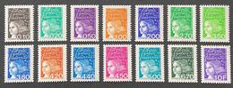 FRA3086-99MNH - Type Marianne Du 14 Juillet - Complete Set Of 14 MNH Stamps 1997 - France YT 3086-3099 - Neufs