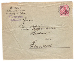 JJ47    Deutsches Reich 1903 Brief Limburg To Rennerod - Lettres & Documents