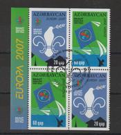 Europa 2007 Azerbadjan 580a Et 581a Oblit. Used - 2007