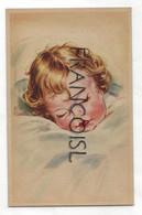 Bébé Blond Endormi. Coloprint 7525 - Contemporanea (a Partire Dal 1950)