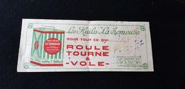 BUVARD Illustration Bidon HUILE SPECIALE LA SEMEUSE Pour AUTOMOBILE 11 Rue Scribe PARIS Usine St Ouen Huiles  Roule Vole - Automotive