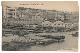 L100H1408 - Alger - Les Quais De La Ville - Hangars De La Chambre De Commerce - Collection PS N°360 - Alger