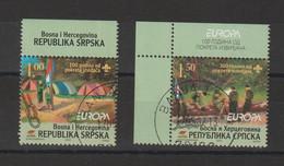 Europa 2007 Bosnie Herzegovine Rép Serbe De Bosnie 362-363 Oblit. Used - 2007