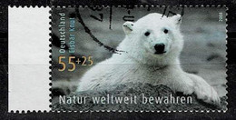 Bund 2008,Michel# 2656 O Polar Bear Knut (Ursus Maritimus), Berlin Zoo - Gebruikt