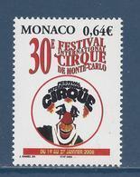 ⭐ Monaco - YT N° 2522 - Neuf Sans Charnière - 2005 ⭐ - Unused Stamps