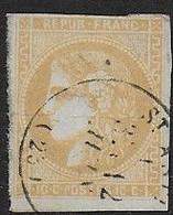 Bordeaux N° 43B  Oblitéré  - Cote : 110 € - 1870 Bordeaux Printing