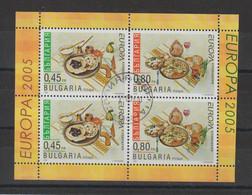 Europa 2005 Bulgarie 4057a-4058a Oblit. Used - 2005