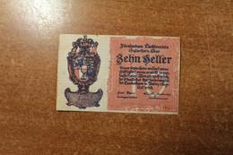 Liechtenstein 20 Hellers 1920 RK - Liechtenstein