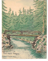 André Dupuis-Vosges,  Pont Sur La Vologne,Litho Coubé,Nancy - Other